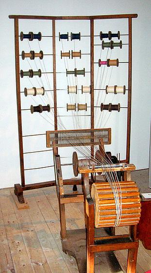 Museum für Bandherstellung - Schloß Rammenau - Sachsen