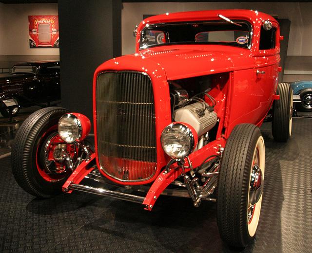 1932 Ford Deuce Coupe - Petersen Automotive Museum (8107)