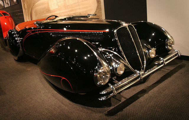 1938 Delahaye Type 135M Competition Roadster - Petersen Automotive Museum (8152)