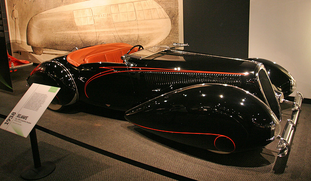 1938 Delahaye Type 135M Competition Roadster - Petersen Automotive Museum (8153)