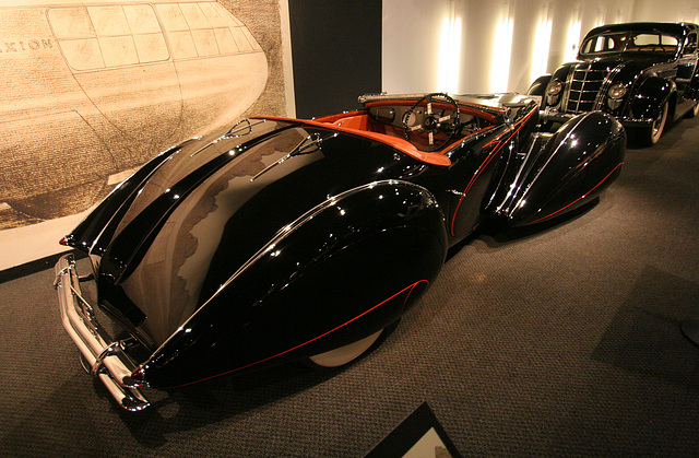 1938 Delahaye Type 135M Competition Roadster - Petersen Automotive Museum (8154)