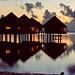 Bungalow sur mer du Méridien de Puna'auia