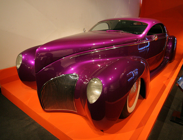1939 Lincoln Zephyr Custom Scrape - Petersen Automotive Museum (8141)