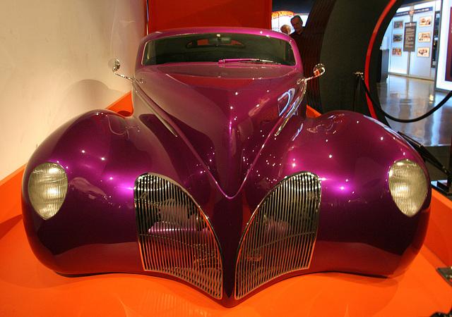 1939 Lincoln Zephyr Custom Scrape - Petersen Automotive Museum (8142)