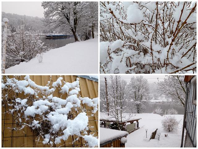 Neuschnee am 16.2.2013