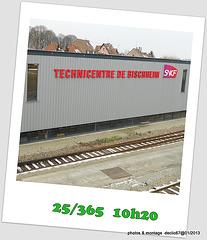 """25/01..........Voie de """"garage"""" pour T G V"""
