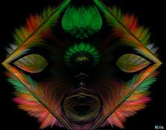 Etude  sur Apophysis................Tu reviens de ma nuit.............. Et ca fait drole .........Si pour une fois ........on inversait les roles