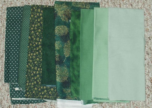 alternate fabric toss