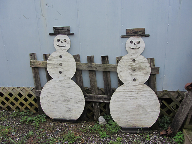 Schneemänner