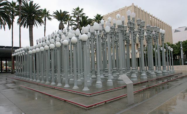 Urban Light by Chris Burden at LACMA (8197)