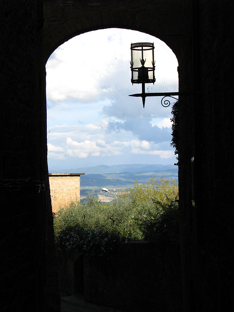 View from San Gimigano