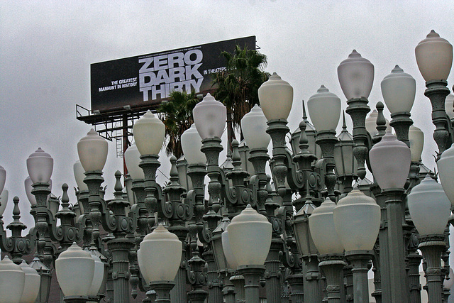 Urban Light by Chris Burden at LACMA (8216)