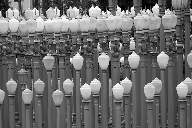 Urban Light by Chris Burden at LACMA (8247)