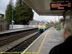 Arriva Trains Wales #175013, Abergavenny, Wales (UK), 2012