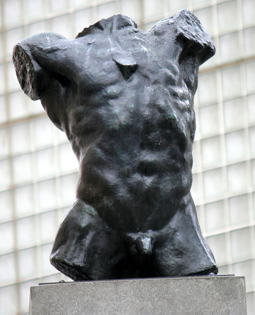 Marsyas (Torso of the 'Falling Man') by Rodin at LACMA (8221A)