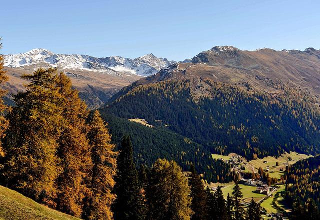 Les Alpes grisonaises...