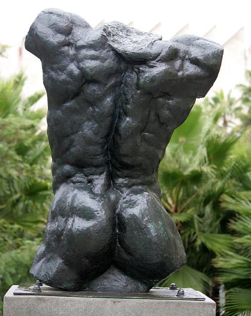 Marsyas (Torso of the 'Falling Man') by Rodin at LACMA (8226)