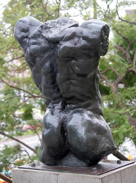 Marsyas (Torso of the 'Falling Man') by Rodin at LACMA (8258)