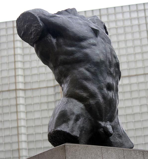 Marsyas (Torso of the 'Falling Man') by Rodin at LACMA (8259)