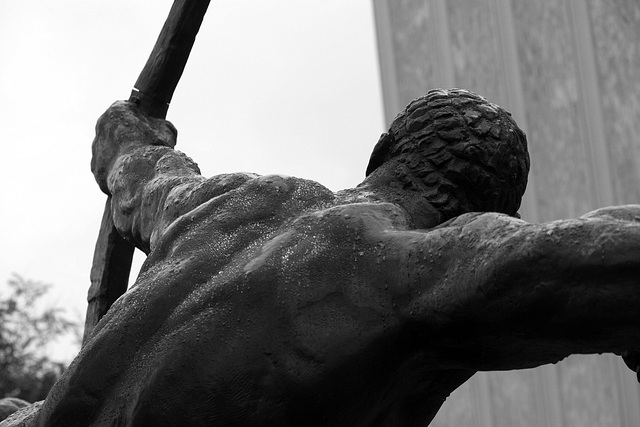 Herakles-The Archer by Bourdelle at LACMA (8232)