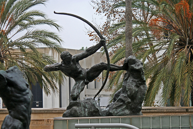Herakles-The Archer by Bourdelle at LACMA (8257)