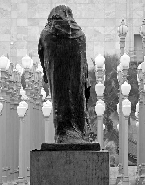 Monument to Honoré de Balzac by Rodin at LACMA (8260)