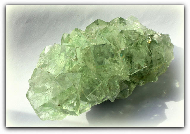 Fluorite verte  - Chine