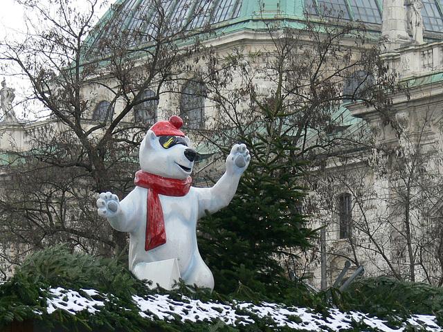 München zur Vorweihnachtszeit