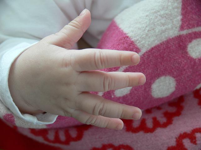 kleines Händchen