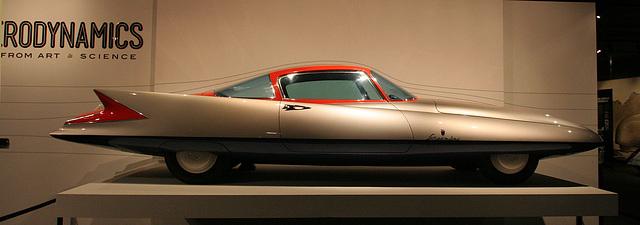 1955 Ghia Streamline X Gilda - Petersen Automotive Museum (8134)