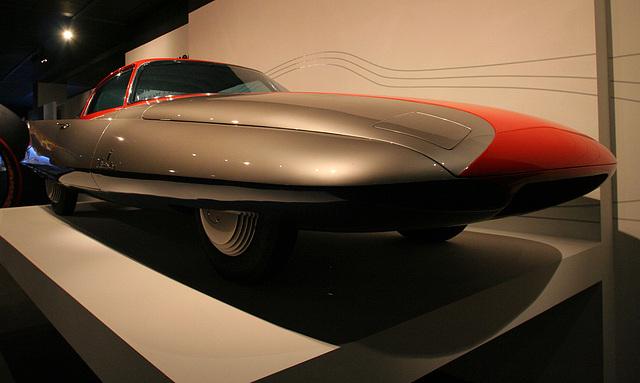 1955 Ghia Streamline X Gilda - Petersen Automotive Museum (8136)