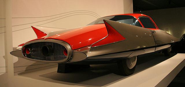 1955 Ghia Streamline X Gilda - Petersen Automotive Museum (8138)