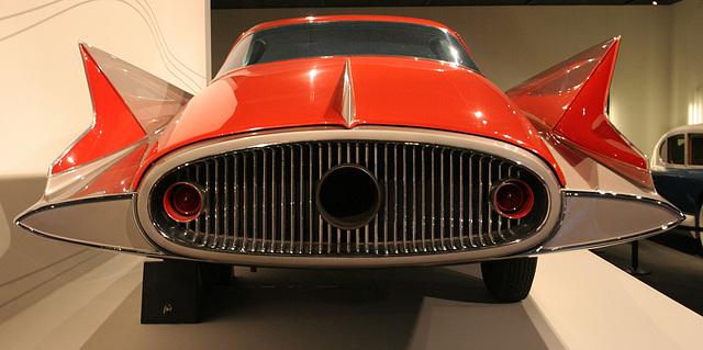 1955 Ghia Streamline X Gilda - Petersen Automotive Museum (8139)