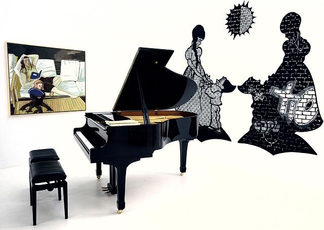 la música y el arte
