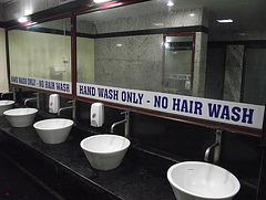 No hair wash, get it???