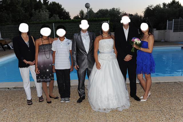 Mariage T & J  et talons hauts / High heels & T & J wedding party / Visages cachés