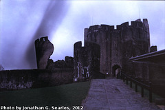 Caerphilly Castle, Picture 6, Caerphilly, Wales (UK), 2012