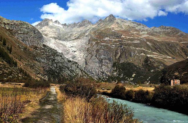Glacier  d'Aletsch...