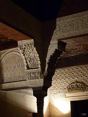 Dans les palais nasrides de l'Alhambra