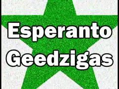 Esperanto geedzigas