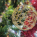 Again bent wires make this gorgeous Xmas decoration