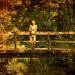 A Girl On A Footbridge