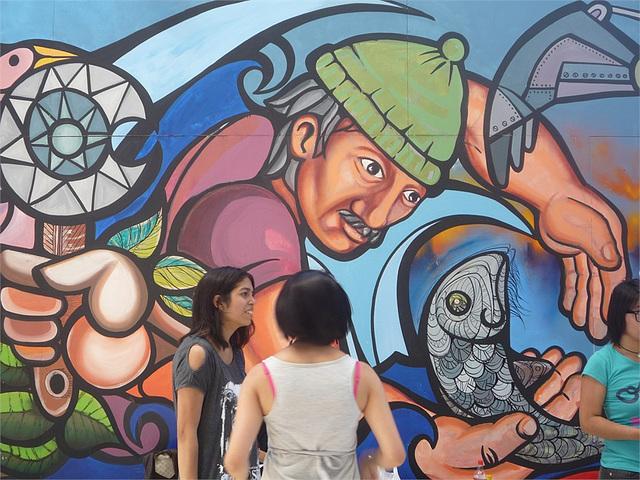 Mural de Chile1