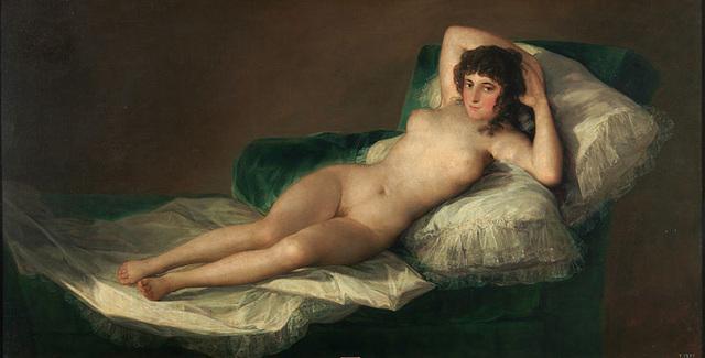 Maja desnuda (museo del Prado)