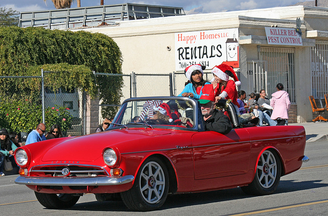 DHS Holiday Parade 2012 - Sunbeam Tiger (7798)
