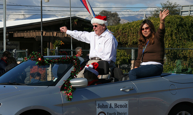 DHS Holiday Parade 2012 - Supervisor John Benoit (7746)