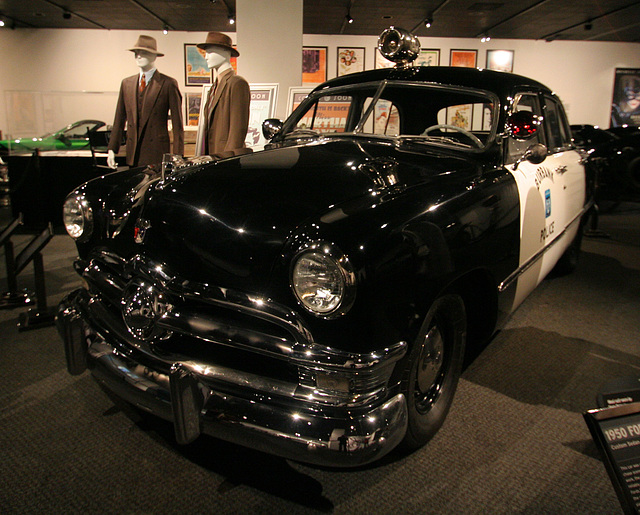 "1950 Ford Custom Sedan - ""Gangster Squad"" Movie 2013 - Petersen Automotive Museum (8188)"