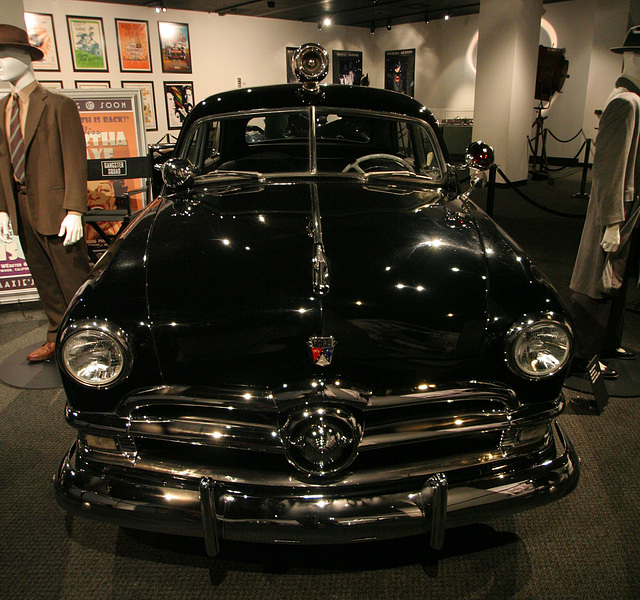 "1950 Ford Custom Sedan - ""Gangster Squad"" Movie 2013 - Petersen Automotive Museum (8189)"