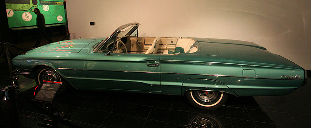 """1966 Ford Thunderbird from """"Thelma & Louise"""" - Petersen Automotive Museum (8178)"""