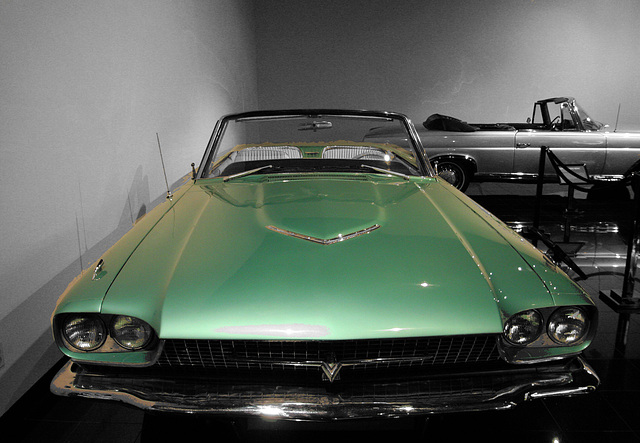 "1966 Ford Thunderbird from ""Thelma & Louise"" - Petersen Automotive Museum (8180A)"